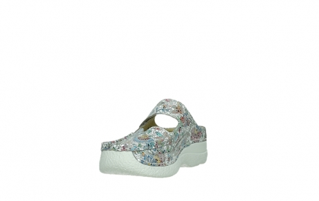 wolky slippers 06227 roll slipper 42157 taupe mosaic suede_9