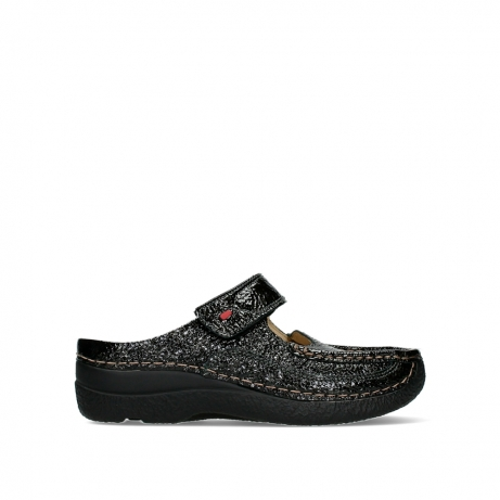 wolky slippers 06227 roll slipper 65210 anthracite leather