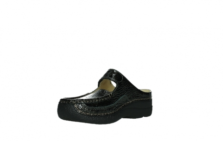 wolky slippers 06227 roll slipper 65210 anthracite leather_10