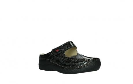wolky slippers 06227 roll slipper 65210 anthracite leather_4