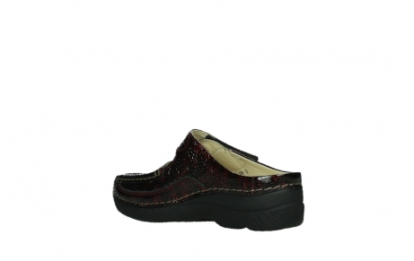 wolky slippers 06227 roll slipper 65510 burgundy red leather_16
