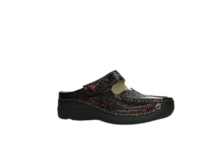 wolky slippers 06227 roll slipper 65510 burgundy red leather_3