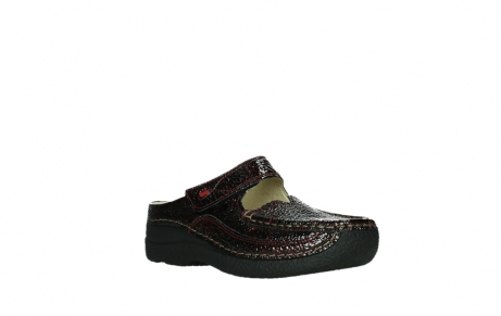 wolky slippers 06227 roll slipper 65510 burgundy red leather_4