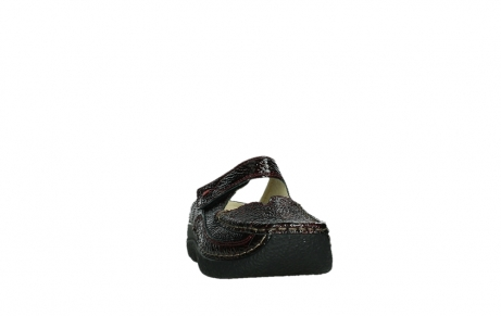 wolky slippers 06227 roll slipper 65510 burgundy red leather_6