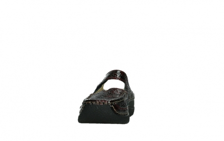wolky slippers 06227 roll slipper 65510 burgundy red leather_8