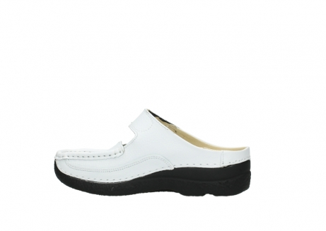 wolky slippers 06227 roll slipper 70100 white printed leather_12