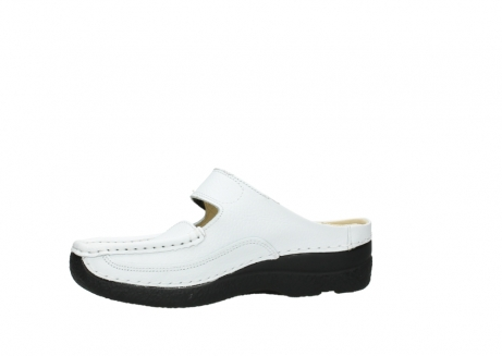 wolky slippers 06227 roll slipper 70100 white printed leather_14