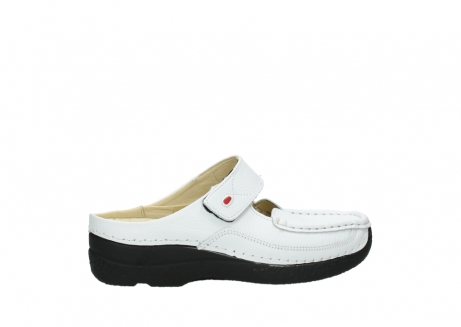 wolky slippers 06227 roll slipper 70100 white printed leather_2
