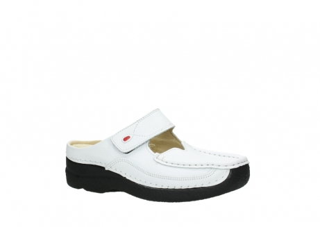 wolky slippers 06227 roll slipper 70100 white printed leather_23
