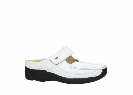 wolky slippers 06227 roll slipper 70100 white printed leather_24