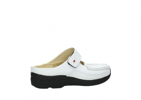 wolky slippers 06227 roll slipper 70100 white printed leather_3