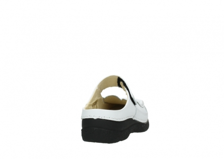 wolky slippers 06227 roll slipper 70100 white printed leather_6