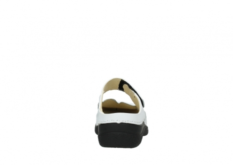 wolky slippers 06227 roll slipper 70100 white printed leather_7