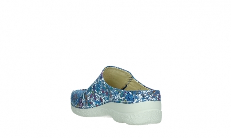 wolky slippers 06250 seamy slide 42865 royal blue mosaic suede_17
