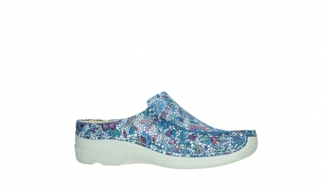 wolky slippers 06250 seamy slide 42865 royal blue mosaic suede_2
