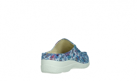 wolky slippers 06250 seamy slide 42865 royal blue mosaic suede_21