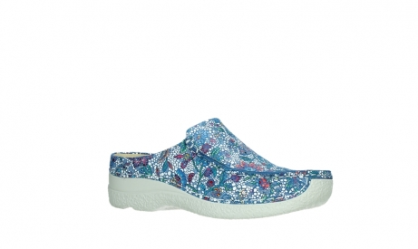 wolky slippers 06250 seamy slide 42865 royal blue mosaic suede_3