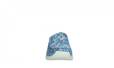 wolky slippers 06250 seamy slide 42865 royal blue mosaic suede_7