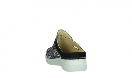 wolky slippers 06600 holland 42070 black mosaic suede_18