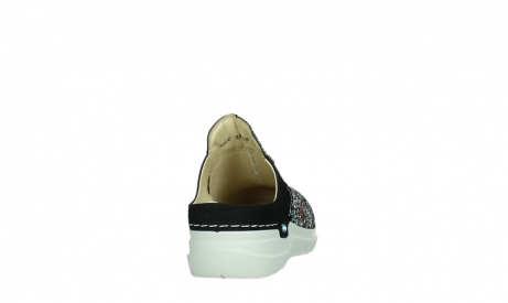 wolky slippers 06600 holland 42070 black mosaic suede_20