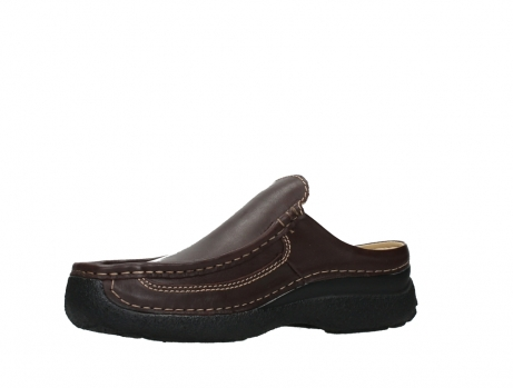 wolky heren slippers 09210 roll slide men 50300 brown leather_11