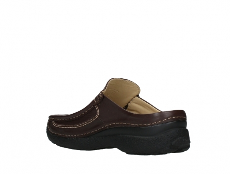 wolky heren slippers 09210 roll slide men 50300 brown leather_16