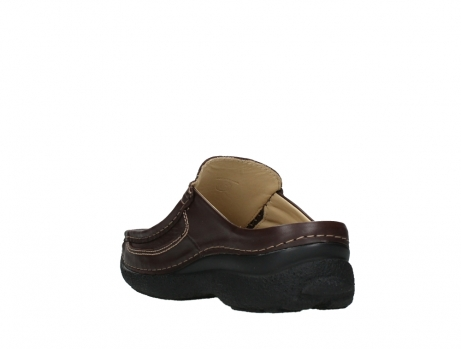 wolky heren slippers 09210 roll slide men 50300 brown leather_17