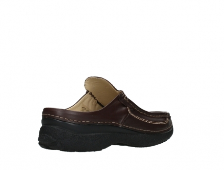 wolky heren slippers 09210 roll slide men 50300 brown leather_22