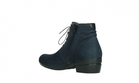 wolky lace up boots 00955 delano 13800 blue nubuckleather_16