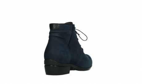wolky lace up boots 00955 delano 13800 blue nubuckleather_21