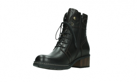 wolky ankle boots 01260 red deer 30305 dark brown leather_10