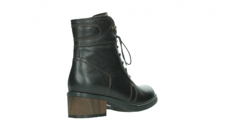 wolky ankle boots 01260 red deer 30305 dark brown leather_22