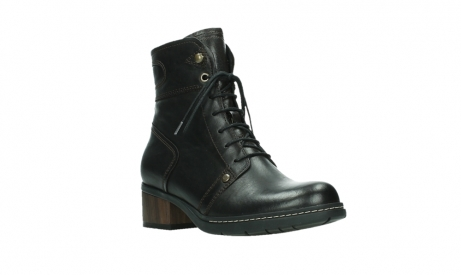 wolky ankle boots 01260 red deer 30305 dark brown leather_4