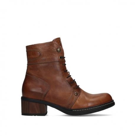 wolky ankle boots 01260 red deer 30430 cognac leather