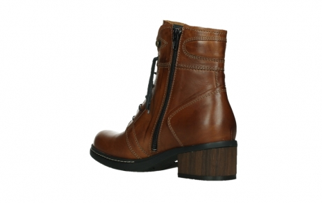 wolky ankle boots 01260 red deer 30430 cognac leather_16