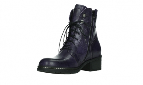 wolky lace up boots 01260 red deer 30600 purple leather_10