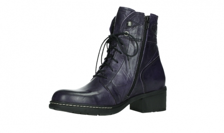 wolky lace up boots 01260 red deer 30600 purple leather_11