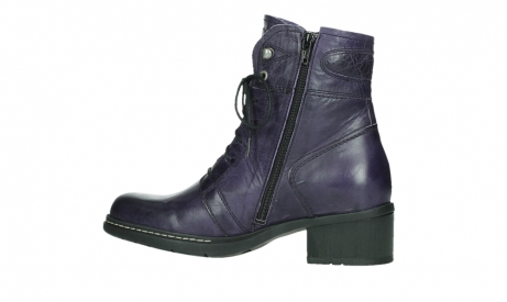 wolky lace up boots 01260 red deer 30600 purple leather_14