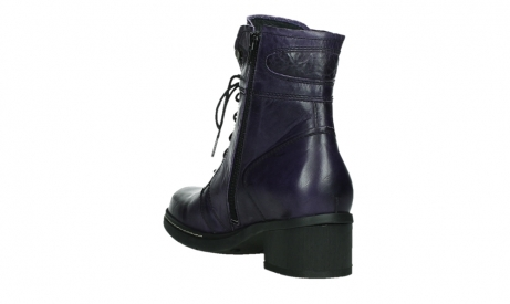 wolky lace up boots 01260 red deer 30600 purple leather_17