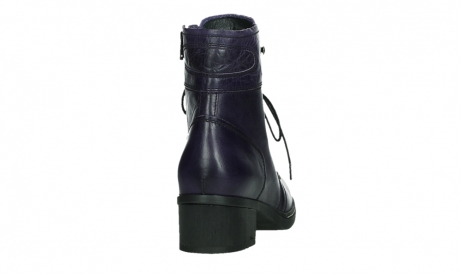 wolky lace up boots 01260 red deer 30600 purple leather_20