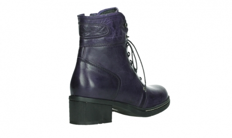 wolky lace up boots 01260 red deer 30600 purple leather_22