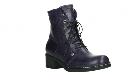 wolky lace up boots 01260 red deer 30600 purple leather_4