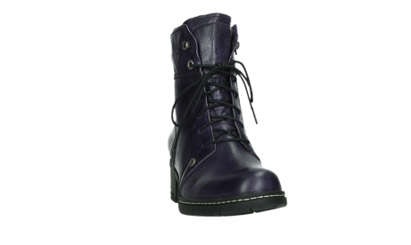 wolky lace up boots 01260 red deer 30600 purple leather_6