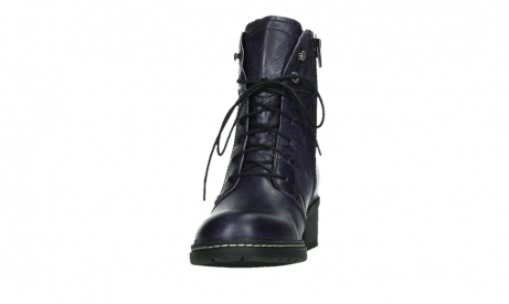 wolky lace up boots 01260 red deer 30600 purple leather_8