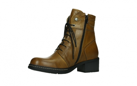 wolky ankle boots 01260 red deer 30925 dark ocre leather_11