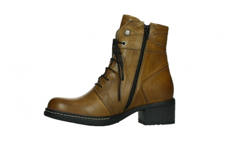 wolky ankle boots 01260 red deer 30925 dark ocre leather_12