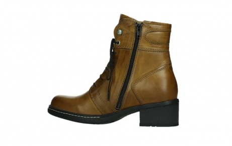wolky ankle boots 01260 red deer 30925 dark ocre leather_14