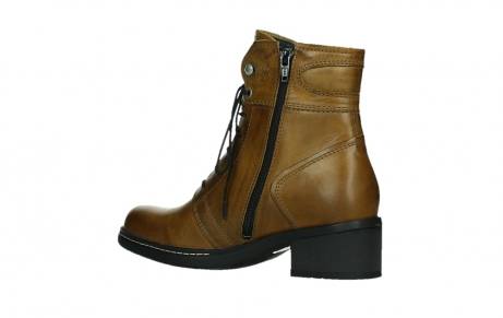 wolky ankle boots 01260 red deer 30925 dark ocre leather_15