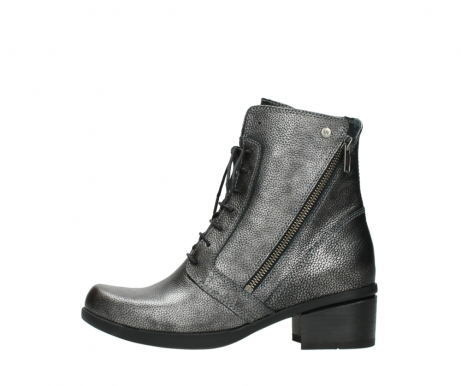 wolky lace up boots 01377 forth 81280 metal grey leather_1