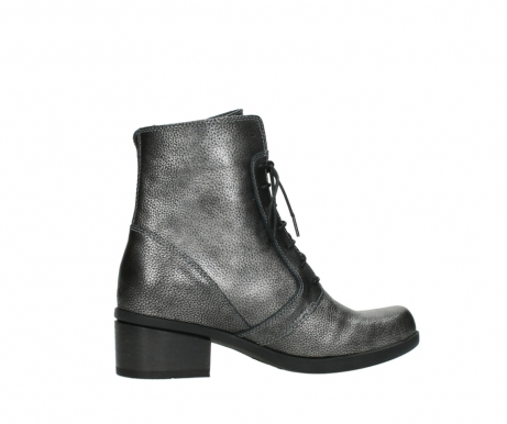 wolky lace up boots 01377 forth 81280 metal grey leather_12